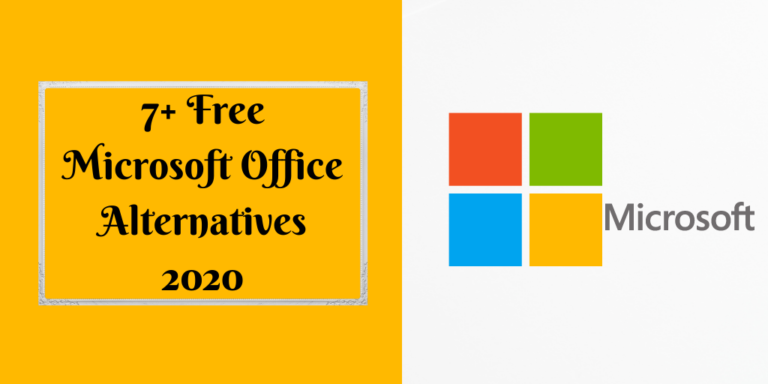 7+ Free Microsoft Office Alternatives 2020