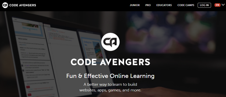 Code Avengers - best resources to learn coding