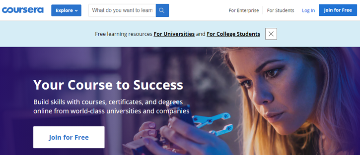 Coursera - best resources to learn coding