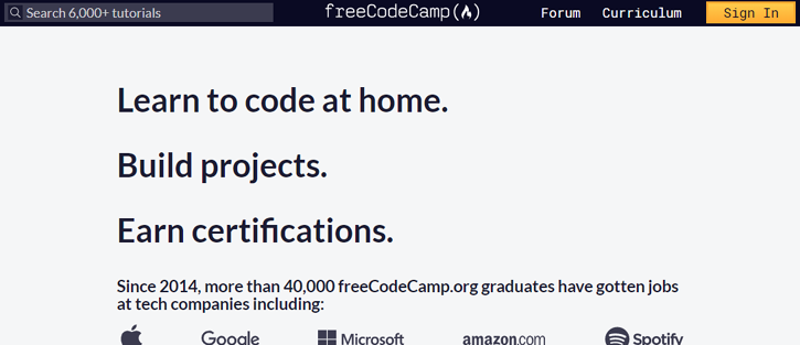 Free Code Camp - best resources to learn coding