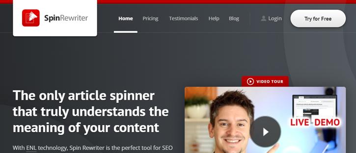 SpinRewriter - best Paraphrasing tools