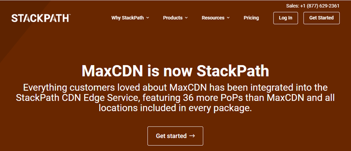 StackPath (MaxCDN) - content delivery networks