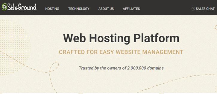 SiteGround - Namecheap alternatives