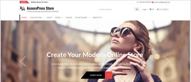 AccessPress Store - WooCommerce WordPress Theme