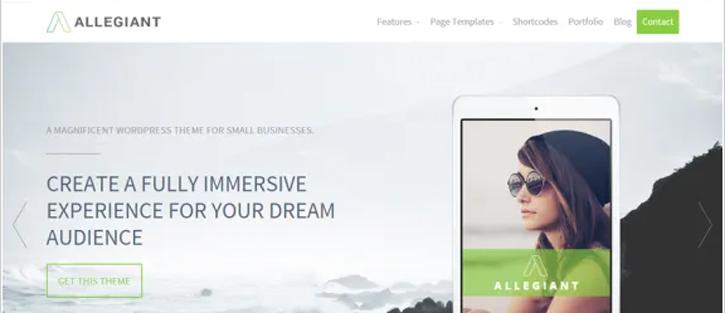 Allegiant - WordPress WooCommerce Theme