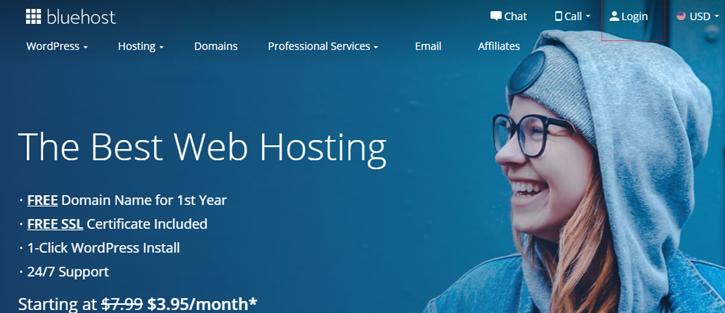 Bluehost - Web Hosting Service