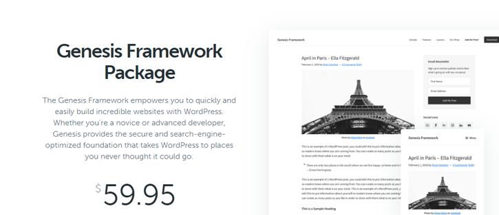 Genesis - WordPress Theme Framework