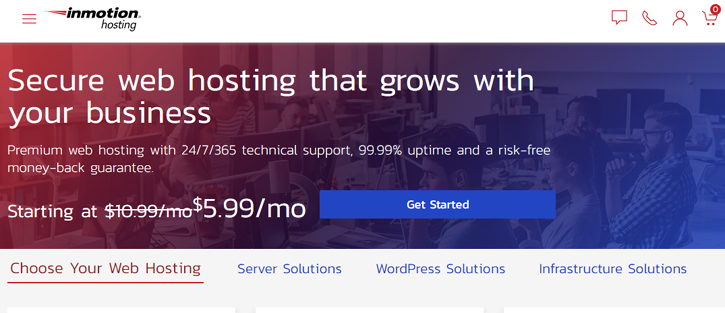 InMotion Hosting - Cheap Web Hosting