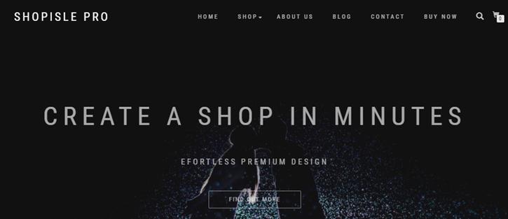 ShopIsle - Woocommerce Theme