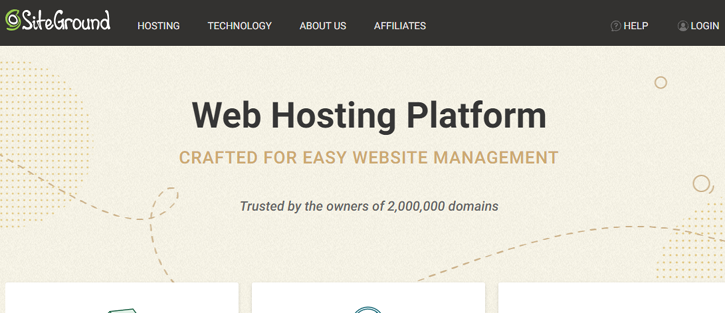 SiteGround - Cheap Web Hosting