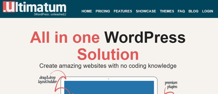 Ultimatum - WordPress Themes Frameworks