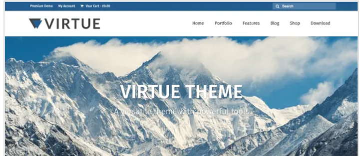 Virtue - WordPress WooCommerce Theme