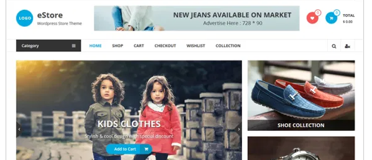 eStore - WooCommerce WordPress Theme