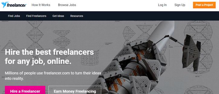 Freelancer - Toptal alternatives