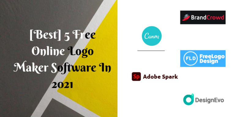 [Best] 5 Free Online Logo Maker Software In 2021