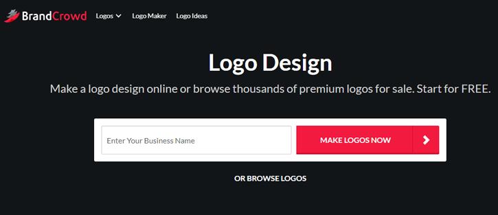 BrandCrowd - Best Free Logo Maker Software