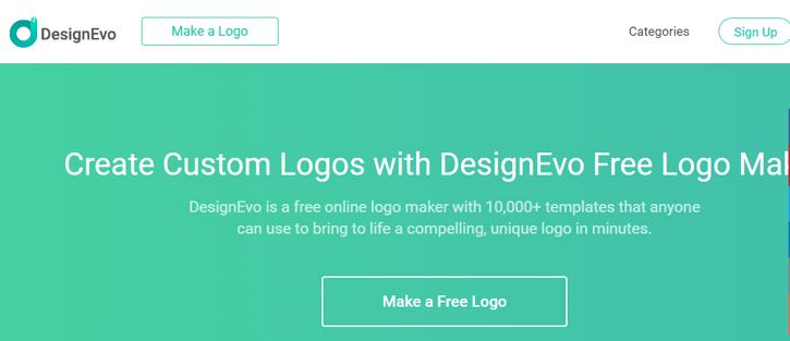 DesginEvo - Best Free Logo Maker Software