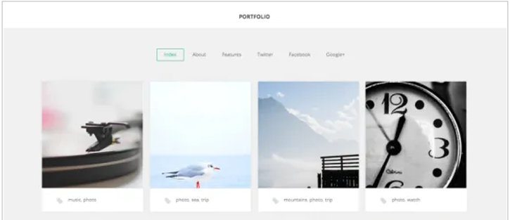 GK Portfolio - best free WordPress themes