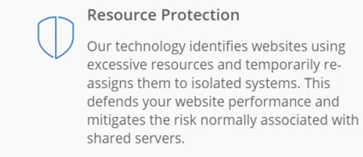 Resource Protection - Hosting