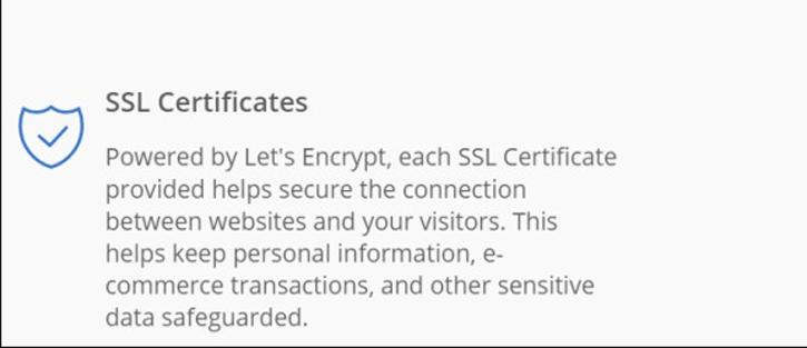 SSL Certificates - Hosting