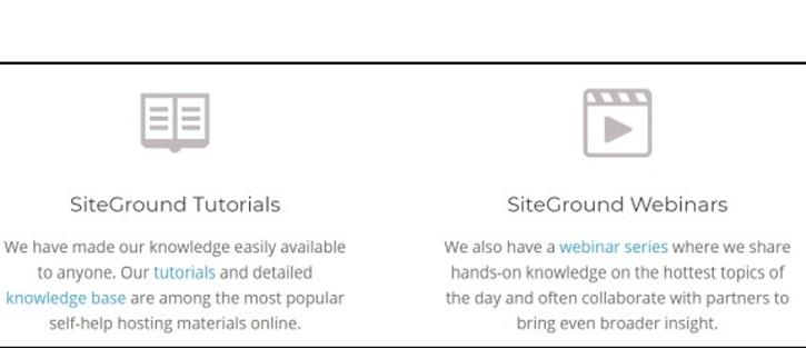 SiteGround Tutorials