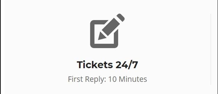Ticket - Hosting