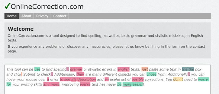 Online Correction - Grammarly Alternatives